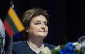 Kijeve viešinti L.Graužinienė Ukrainą ragina laikytis politinės vienybės, tęsti reformas