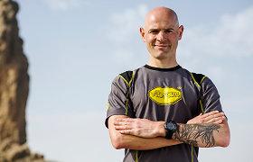 15min konferencijoje – ultramaratonininkas Gediminas Grinius. Užduok klausimą!