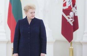 Dalia Grybauskaitėdalyvaus Miuncheno saugumo forume