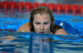 Rūta Meilutytė pasiekė geriausią sezono rezultatą pasaulyje