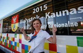 Penkių valandų trukmės kelionės traukiniu iš Kauno į Balstogę prasidės birželį, kainuos 11 eurų