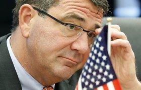 """Griežti Pentagono vadovo žodžiai: """"Rusija grasina pasaulio tvarkai"""""""