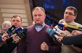 """Moldovos protestų lyderis Igoris Dodonas: """"Mes norime namo. Norime atgal į Sovietų Sąjungą"""""""