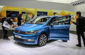 """""""Volkswagen"""" Ženevoje demonstruoja naująjį """"Touran"""" ir plačią variklių gamą"""