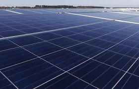 Prancūzijoje ant 1000 km kelių bus sumontuoti saulės kolektoriai