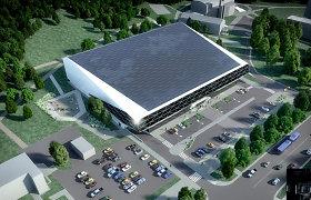 Kaip Vilniuje atrodys rekonstruotas Lazdynų baseinas
