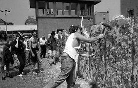 Vokietija mini Berlyno sienos griūties 25-ąsias metines