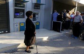 Graikijos pensininkai nori būti kitokioje Europoje