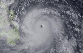 Nuspėti mirtinų taifūnų kelią ir išgelbėti žmones padės vandens burbulai