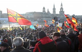 Keliuose Europos miestuose vyksta protestai prieš islamizavimą