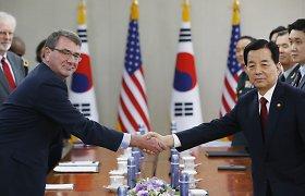 Po Šiaurės Korėjos vandenilinės bombos bandymo Pietų Korėja paprašė JAV karinės pagalbos