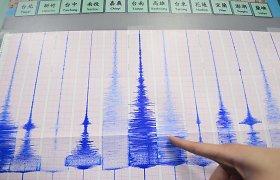 Taivaną supurtė stiprus žemės drebėjimas
