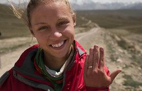 Iš Kirgizijos – su sužadėtuvių žiedu