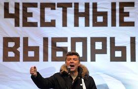 Rusijos saugumas nustatė kelis įtariamuosius Boriso Nemcovo nužudymo byloje