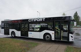 Kauniečiai vežėjai įvertino modernų turkišką autobusą