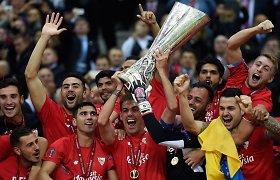 "Dramatišką trilerį laimėjusi ""Sevilla"" tapo Europos lygos rekordininke"