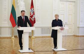 Premjeras su prezidente aptars situaciją Vyriausybėje