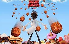 Filmas: Debesuota, numatoma mėsos kukulių kruša | Cloudy with a Chance of Meatballs