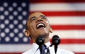 JAV prezidento rinkimai: Harvardo universiteto verslo mokyklos studentai palaiko Baracką Obamą