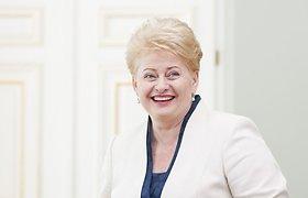 Prezidentė Dalia Grybauskaitė pasveikino Latviją su pirmuoju olimpiniu auksu