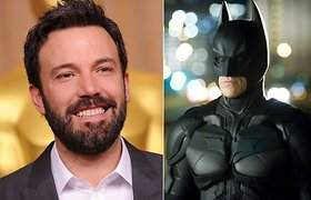 """""""Žmogaus iš plieno"""" tęsinyje Betmeną vaidins Benas Affleckas"""