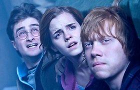 """Su kuriuo """"Hario Poterio"""" veikėju norėtų pavakarieniauti J.K.Rowling?"""