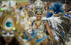 Siautulingi sambos ritmai Rio de Žaneiro karnavale