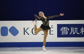 Europos pirmenybėse Aleksandra Golovkina užėmė šešioliktą vietą