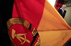 Liguistą Vladimiro Putino pasaulėžiūrą formavo Rytų Vokietijos žlugimo vaizdai?