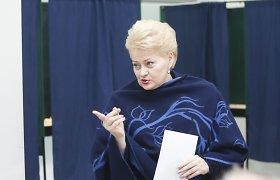 Dalia Grybauskaitė: VSD turi ne tik įvardyti grėsmes, bet ir jas šalinti