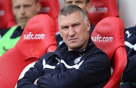 """""""Leicester City"""" atleido vyriausiąjį komandos trenerį Nigelą Pearsoną"""