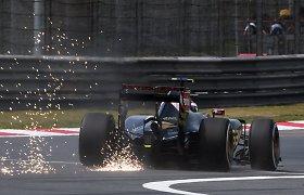 Avarijų guru tituluojamas P.Maldonado patvirtino, kad šiemet nelenktyniaus F-1