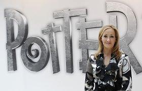 J.K.Rowling rašo aštuntą knygą apie Harį Poterį