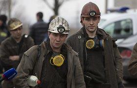 Sprogusioje Donecko kasykloje rasti dešimties negyvų angliakasių kūnai