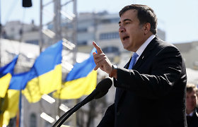 Michailas Saakašvilis: Odesos milicija – hidra, kurios galvą nukirsti būtina