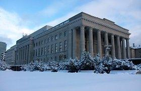 M.Mažvydo bibliotekos rekonstrukciją tikisi baigti iki rugsėjo 1-osios