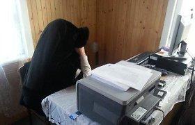 Jurbarko rajone Gricių rinkimų komisijoje – išgertuvės