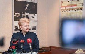 Dalia Grybauskaitė: Rusijos grėsmė reali, be sąjungininkų tektų atsilaikyti tris dienas