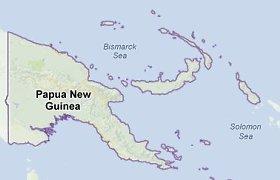 Papua Naujojoje Gvinėjoje įvyko galingas žemės drebėjimas, kyla cunamio grėsmė
