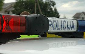 Per avariją Utenoje nukentėjo šešiolikmetis motorolerio vairuotojas