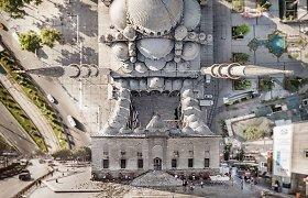 Fotografas dronu įamžino žinomas Turkijos vietas, paversdamas jas meno kūriniais
