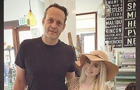 """Simona Milinytė susitiko su Holivudo žvaigžde Vince'u Vaughnu: """"Man didelė garbė"""""""
