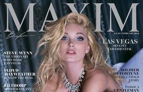 """Victoria's Secret"" angelas Elsa Hosk įsiamžino erotiškoje fotosesijoje"