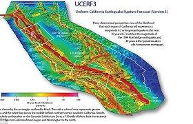 Iš sprūdžio Kalifornijoje teka helis – Žemės drebėjimo padariniai būtų didesni, nei manyta