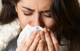 Gripo epidemija: kaip jai pasiruošti ir nepainioti gripo su peršalimu?