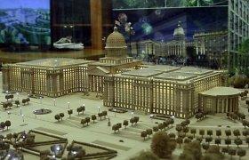 Rusijos įstatymų leidėjai užsimanė į JAV Kapitolijų panašaus pastato