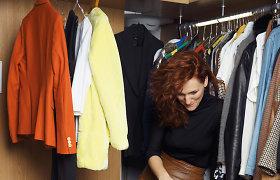 Stilistės patarimai: Agnė Gilytė padėjo Liepai Rimkevičienei susitvarkyti garderobą