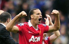 """Manchester United"" legenda Rio Ferdinandas baigė futbolininko karjerą"
