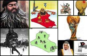 """Iranas erzina """"Islamo valstybę"""" – surengė karikatūrų konkursą"""