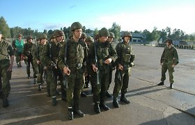 Vyriausybė pritarė Privalomos karo tarnybos įstatymo projektui